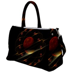 Fractal Digital Art Duffel Travel Bag by Pakrebo