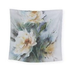 Roses Watercolour Square Tapestry (small) by Pakrebo