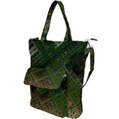 City Forward Urban Planning Shoulder Tote Bag