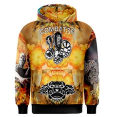 Combat76 Hell On Earth Men s Pullover Hoodie by Combat76hornets