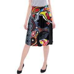 Tajah Olson Designs  Midi Beach Skirt