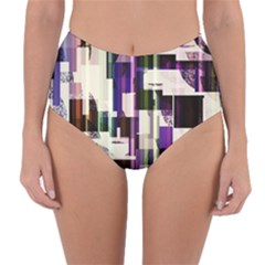 Way To Communicate Reversible High Waist Bikini Bottoms by WensdaiAmbrose