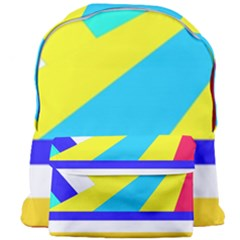 Down Spiral Giant Full Print Backpack