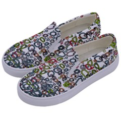 Zappwaits Kids  Canvas Slip Ons by zappwaits