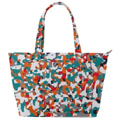Pop Art Camouflage 1 Back Pocket Shoulder Bag