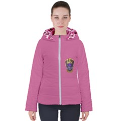 Fierce Queen Women s Hooded Puffer Jacket