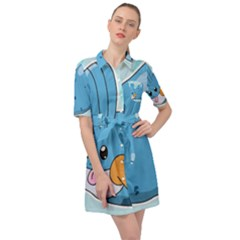 Patokip Belted Shirt Dress by MuddyGamin9