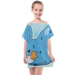 Patokip Kids  One Piece Chiffon Dress by MuddyGamin9