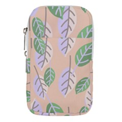 Leaf Pink Waist Pouch (small)