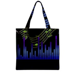 Speakers Music Sound Grocery Tote Bag