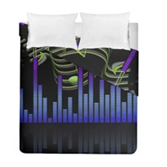 Speakers Music Sound Duvet Cover Double Side (full/ Double Size) by HermanTelo