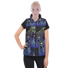 Speakers Music Sound Women s Button Up Vest by HermanTelo