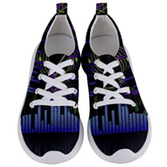 Speakers Music Sound Women s Lightweight Sports Shoes