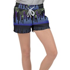 Speakers Music Sound Women s Velour Lounge Shorts