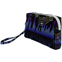 Speakers Music Sound Wristlet Pouch Bag (small)