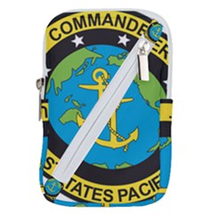 Seal Of Commander Of United States Pacific Fleet Belt Pouch Bag (small)