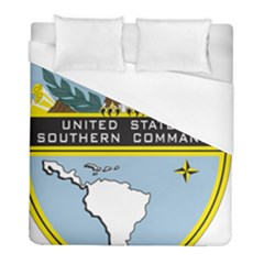Seal Of United States Southern Command Duvet Cover (full/ Double Size) by abbeyz71