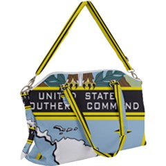 Seal Of United States Southern Command Canvas Crossbody Bag