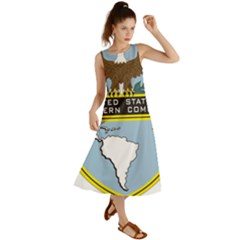 Seal Of United States Southern Command Summer Maxi Dress