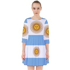 Argentina Flag Smock Dress by FlagGallery