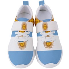 Argentina Flag Women s Velcro Strap Shoes by FlagGallery
