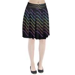 Wallpaper Background Colors Neon Pleated Skirt by Pakrebo