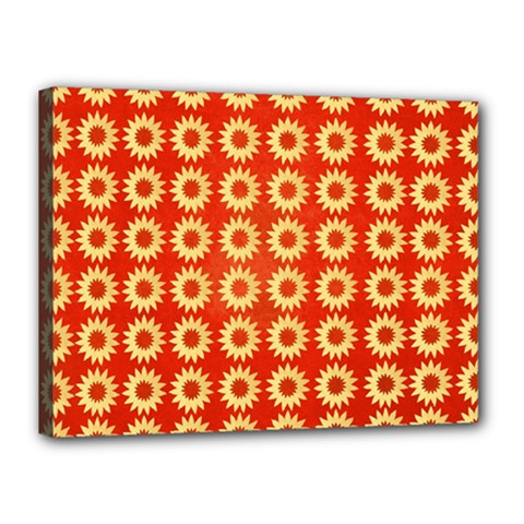 Wallpaper Illustration Pattern Canvas 16  x 12  (Stretched)