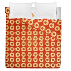 Wallpaper Illustration Pattern Duvet Cover Double Side (Queen Size)