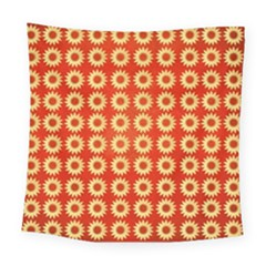 Wallpaper Illustration Pattern Square Tapestry (Large)