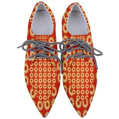 Wallpaper Illustration Pattern Pointed Oxford Shoes