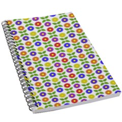 Flowers Colors Colorful Flowering 5 5  X 8 5  Notebook