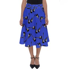 Guitar Instruments Music Rock Perfect Length Midi Skirt