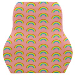 Pride Rainbow Flag Pattern Car Seat Back Cushion  by Valentinaart