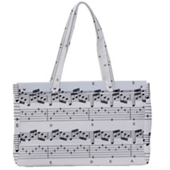 Notes Lines Music Canvas Work Bag by Mariart