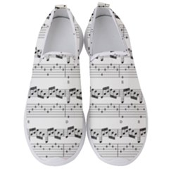 Notes Lines Music Men s Slip On Sneakers by Mariart