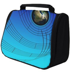 Music Reble Sound Concert Full Print Travel Pouch (big)