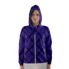 Seamless Continuous Women s Hooded Windbreaker