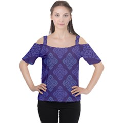 Seamless Continuous Cutout Shoulder Tee