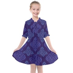 Seamless Continuous Kids  All Frills Chiffon Dress