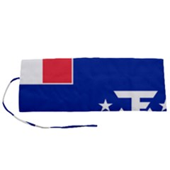 Flag Of The French Southern And Antarctic Lands Roll Up Canvas Pencil Holder (s)