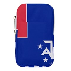 Flag Of The French Southern And Antarctic Lands Waist Pouch (large)