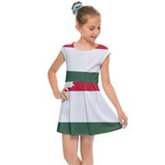 Hungary Country Europe Flag Kids  Cap Sleeve Dress