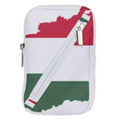 Hungary Country Europe Flag Belt Pouch Bag (small)