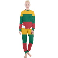 Lithuania Country Europe Flag Women s Lounge Set