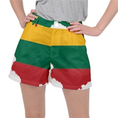Lithuania Country Europe Flag Ripstop Shorts