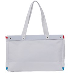 Luxembourg Country Europe Flag Canvas Work Bag by Sapixe