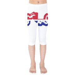 Gambia Flag Map Geography Outline Kids  Capri Leggings