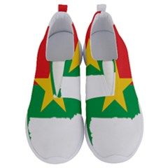 Burkina Faso Flag Map Geography No Lace Lightweight Shoes