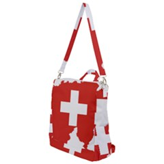 Switzerland Country Europe Flag Crossbody Backpack by Sapixe