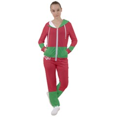 Belarus Country Europe Flag Women s Tracksuit
